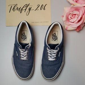 [Vans] Chambray Unisex Shoes | W - 8 | M - 6.5